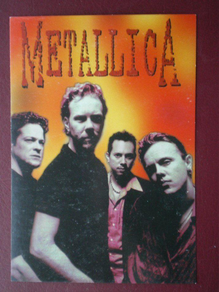 Postcard UK METALLICA