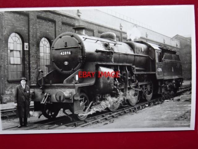 Print of LMS Crab locomotive