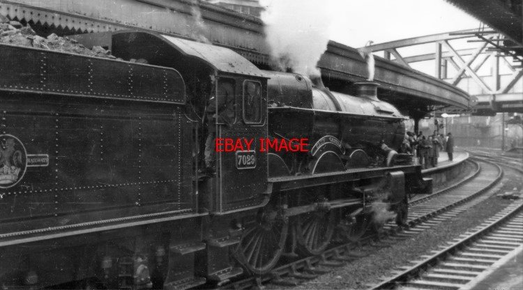 Details about PHOTO GWR LOCO NO 7029 CLUN CASTLE AT PADDINGTON 'THE LAST  STEAM HAULED TRAIN F