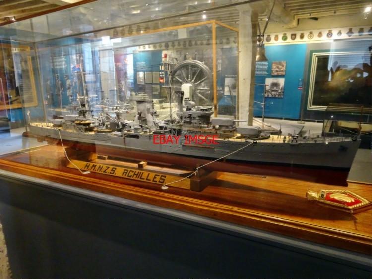 Photo Model Of  U0026 39 Leander U0026 39  Class Light Cruiser Hmnzs