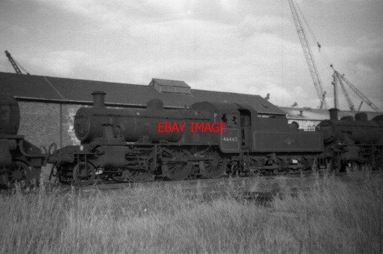 PHOTO DESCRIPTION: PHOTO LMS LOCO NO 46465 AT CASHMORES NEWPORT IN 1967