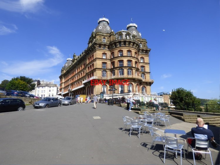 Photo Tram Scarborough Grand Hotel Built In The Days When Stram Carborough Was Ebay