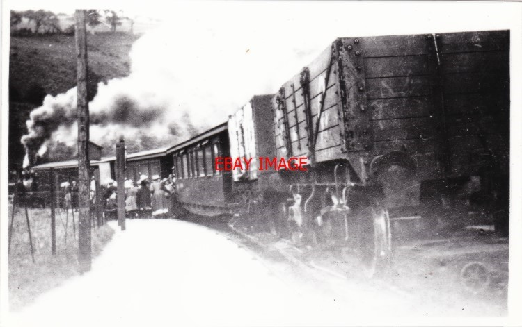 4 Thor/'s Cave Railway Station Photo Leek /& Manifold Valley Light Railway.